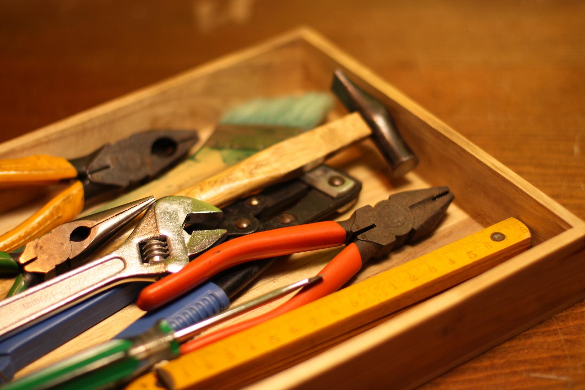 工具の収納にはこんなアイデアも!おすすめ収納方法を掲載!