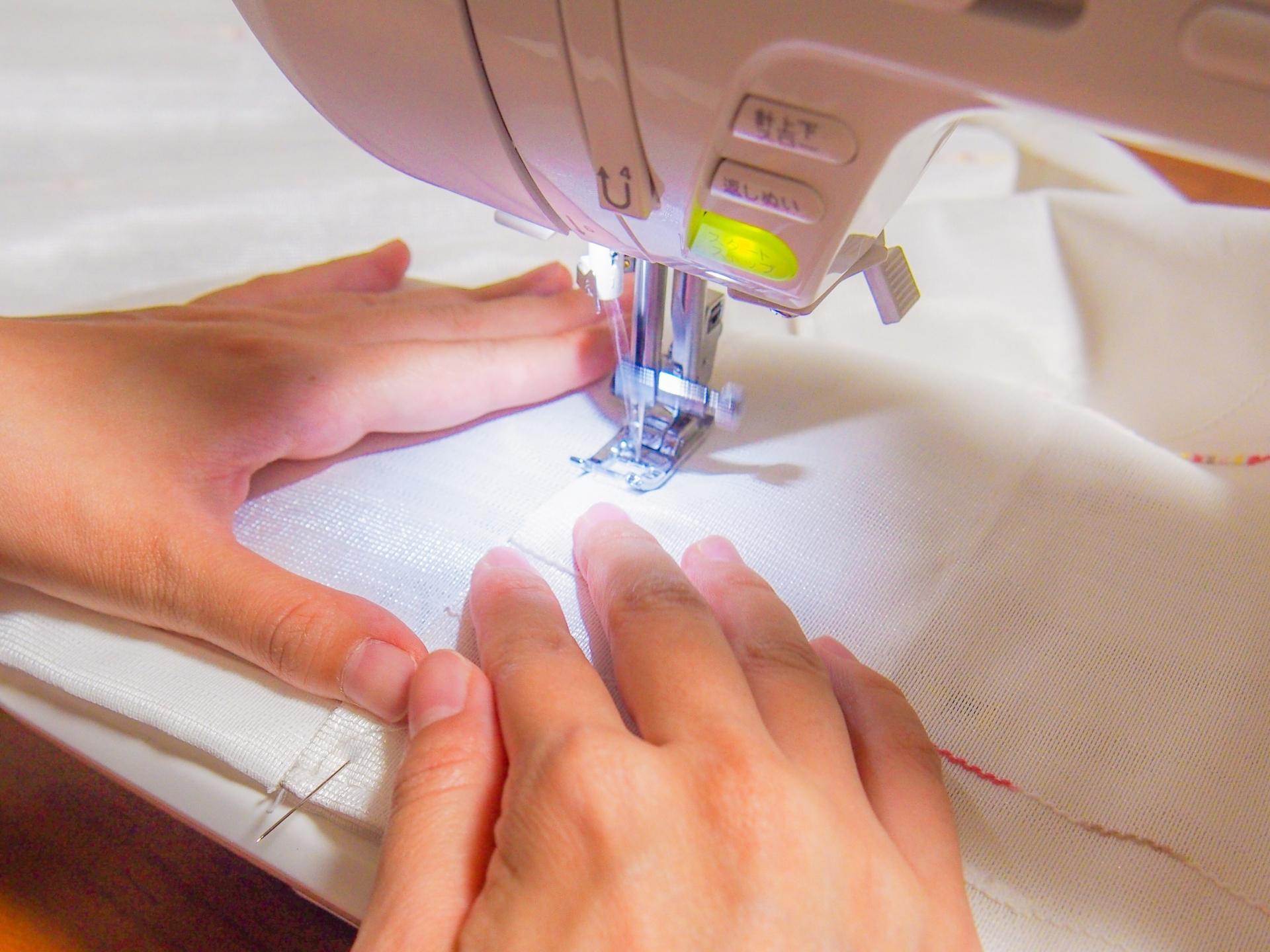 ミシンの縫い目がゆるい時の調整方法や原因と対処法をご紹介