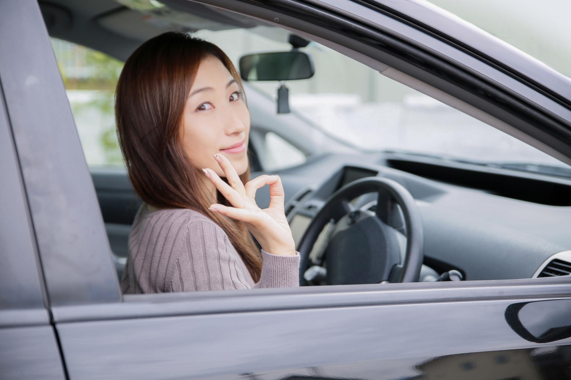 運転が下手と言われる女性。コレだから女はと言われないために