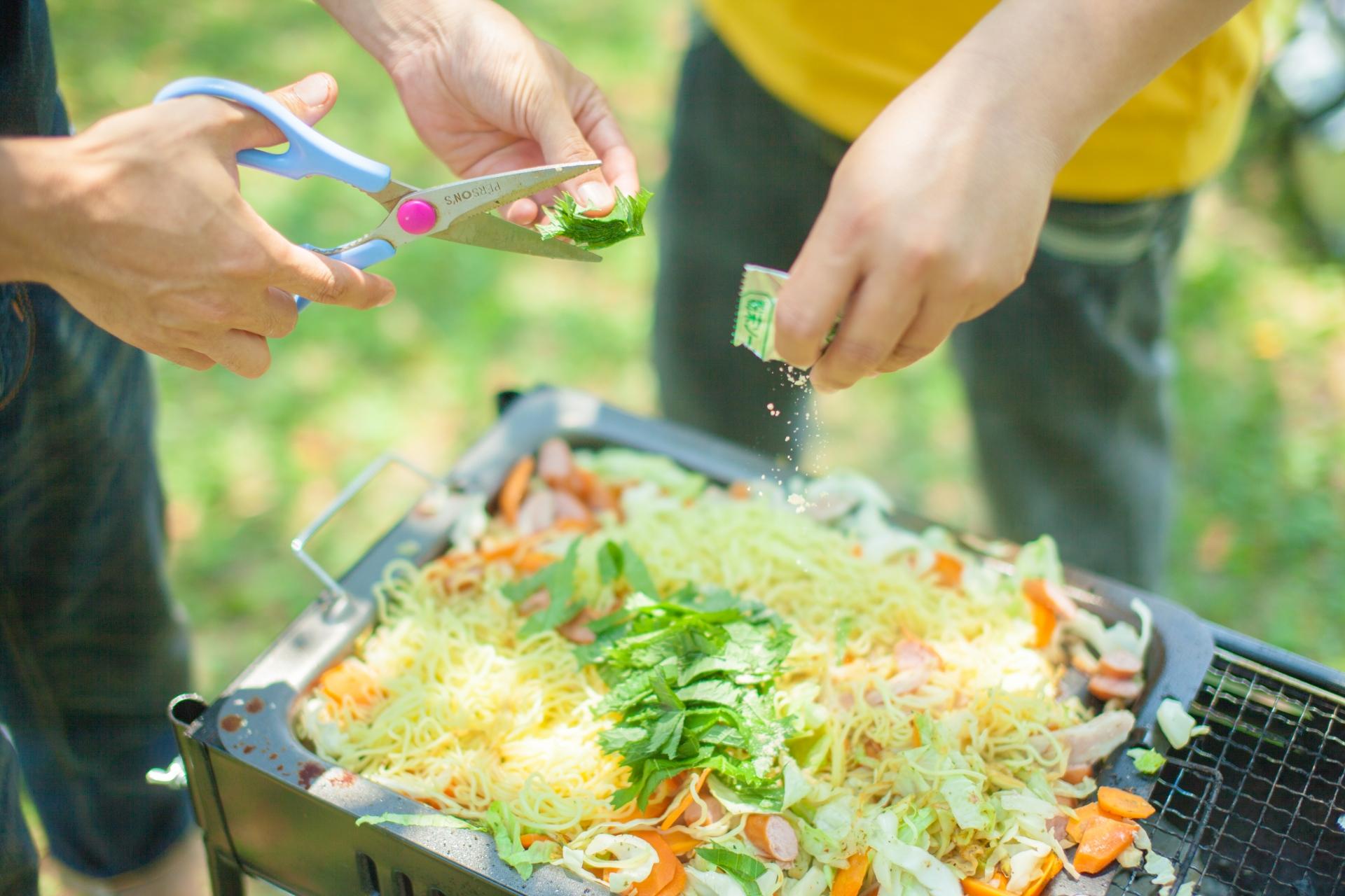 【初心者向け】アウトドア料理におすすめの道具